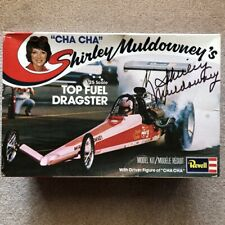 Shirley Muldowney's Top Fuel Dragster Plastic Model Kit