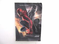 """MOVIE POSTER SPIDERMAN-SIZE:  27""""X40"""" approx- DOUBLE SIDE-"""