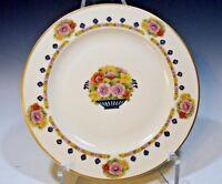 Antique Hutschenreuther Selb Bavaria Crown Lion Ivory Salad Plate
