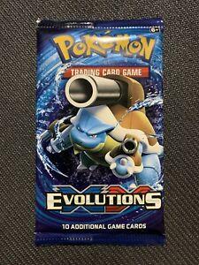 Pokemon XY Evolutions Booster x1 - SEALED - Blastoise Artwork