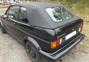 VW Golf 1 Cabrioverdeck - PVC schwarz (Baujahr 79-93)