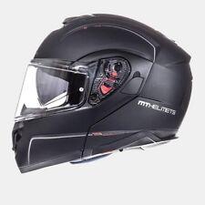 Casco, Helmet, Modular MT ATOM SV Negro Mate T.M con pinlock gratis