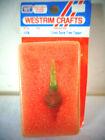 VINTAGE 1985 WESTRIM CRAFTS MINI GLASS SPIRE TREE TOPPER 4338 NIP MINIATURE