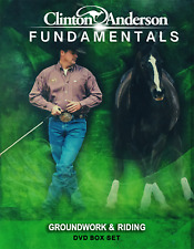 CLINTON ANDERSON GROUNDWORK FUNDAMENTALS 14 DVD WITH EXERCISE SHEET boxset