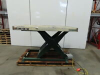 "Southworth LS8-36 8000Lb Hyd. Scissor Lift Table 70""x43"" 9"" to 45"" High 230/460V"