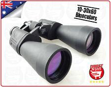 10-30x60 Binoculars Center Focus Porro Prism Binoculars Precision Optical