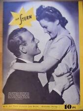 DER STERN 21 - 1939 (0) Albert Matterstock Magda Schneider Anneliese Mörike