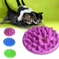 1Pc Silicone Pet Slow Food Bowl Dog Cat Feeder Digestion Puzzle Slow Food B L9M6