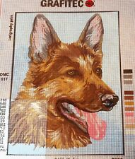ALSATION - Tapestry/Needlepoint to Stitch (NEW) by GRAFITEC