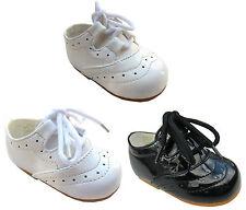 Brevetto Ragazze scarpe con lacci Damigelle d'onore Festa Scarpe Eleganti