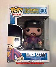 FUNKO POP ROCKS THE BEATLES RINGO STARR #30 RETIRED Vinyl 3 3/4 Figure In Stock