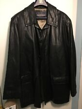 Nickelson Mens Genuine Leather Retro Jacket XL