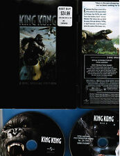 King Kong (2011: 2-DVD set,WideScreen Special Edition: LOADED w/bonus features!)