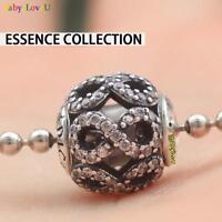 S925 Sterling Silver Essence Collection DEDICATION Infinite Charm Fit Bracelet