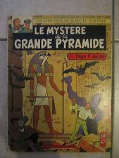 blake et mortimer le mystere de la grande pyramide integrale 3+4 EO 1964