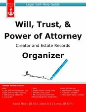 Will, Trust, and Power of Attorney Creator and Estate Records Organizer :...
