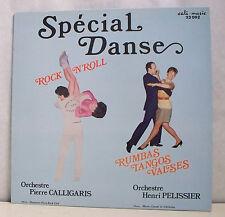 33T SPECIAL DANSE LP ROCK N'ROLL CALLIGARIS -RUMBAS TANGOS VALSES PELISSIER RARE