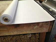 """BRIGHT WHITE VINYL 10 YD ROLL (54""""X 30 FT) BOAT SEATS AND UPHOLSTERY"""