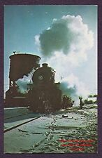 LMH Postcard  1951 BOSTON & ALBANY Railroad B&A 4-6-2 Pacific #585 WATER TANK NJ