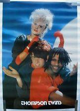 Rare The Thompson Twins 1984 Vintage Original Music Poster