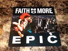 "Mike Patton Rare Hand Signed Faith No More Epic 12"" Vinyl EP Record Import COA"