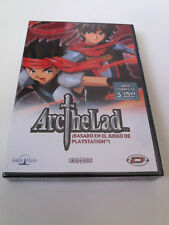 "DVD ""ARC THE LAD SERIE COMPLETA"" 5DVD PRECINTADO SEALED"