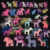 Vintage My Little Pony Lot of 33 Unbranded Fakie Ponies Babies Fakies Saddle