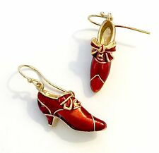 Red Shoe Charm Earrings Inspired by The Victoria & Albert Museum Collection