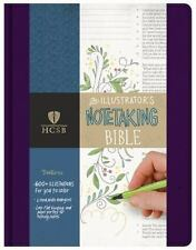 THE HOLY BIBLE THE ILLUSTRATOR'S NOTETAKING BIBLE - HOLMAN BIBLE (COR) - NEW PAP