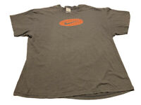 Nike Swoosh 2000s Gray T-Shirt Size 2XL Vtg Basketball Graphic