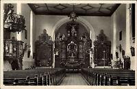 TRIBERG Schwarzwald AK um 1936 Wahlfahrtskirche Kirche Innenansicht alte AK