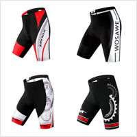 Men Cycling Shorts Pants Gel 3D Outdoor Bicycle Bike Wear Riding Padded S-2XL