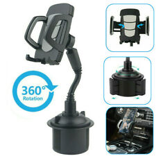 Car Mount Adjustable Gooseneck Cup Holder Stand Cradle For Universal Cell Phone