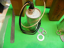 New* GE Protective Capacitor 9L18BAB303 3p 650vac 1-1-1Mf 60hz  D5