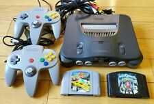 Nintendo 64 Console Bundle 2 Controllers 2 Games Tested