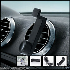360 Rotate Car Air Vent Phone Black Bracket Clip Case Holder Mount for iPhone 5s