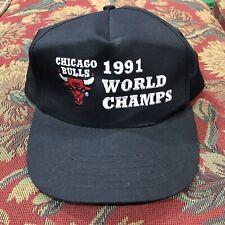 Vintage Chicago Bulls 1991 Chicago Bulls Snapback Hat EUC