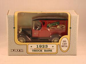 ERTL Diecast Metal Anheuser-Busch 1923 Chevy Truck Bank NIB #9056