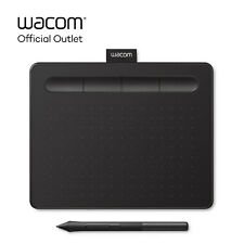 Refurbished Wacom Intuos Small Digital Graphics Drawing Tablet - Black