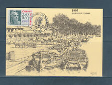 carte 1er jour  journée du timbre Marianne de Gandon  34  Bézier       1995