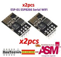 2pcs ESP8266 ESP-01 WIFI Serial Wireless Transceiver Module Upgraded Version