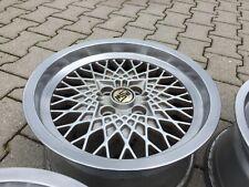 4 BMW E30 MSW OZ Alufelgen KBA 41147 Horn Poliert 7x15 ET 12 LK 4x100