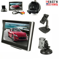 800*480 TFT LCD HD Screen Monitor For Car Rear Reverse Rearview Backup Camera US