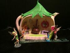 Disney Peter Pan Tea Pot play house + Fairies