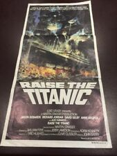 ORIGINAL GENUINE MOVIE POSTER RAISE THE TITANIC CINEMA WHITE STAR LINE