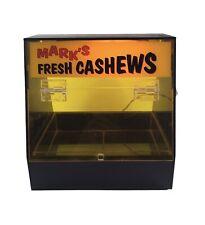 Vintage Mark's Fresh Cashews Lighted Plastic Display Advertisement Box