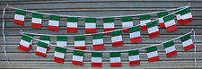 Italian 30 Flags 9 Metres Long String Flag Banner String Bunting Italy Party