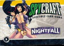 SPY CRAFT CCG 1 STARTER OPERATION NIGHTFALL NINE TIGER