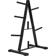 Support poids rack stand barbell bar standard haltères plaque disque gym poste 7