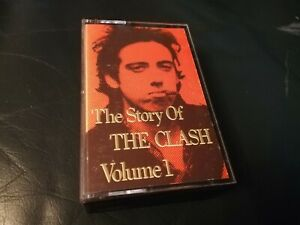 THE CLASH - THE STORY OF THE CLASH: VOLUME 1 (TWO UK CASSETTE TAPES) PUNK ROCK